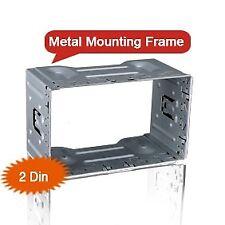 Universal 2 Din Car DVD Metal Frame gabbia mascherina installazione autoradio