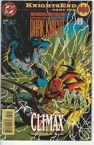 DC Comics 1994 BATMAN Legends of the Dark Knight #63 Knights End Part 10 VF