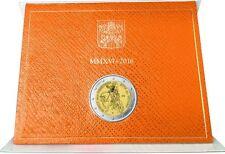 Vatikan 2 Euro Gedenkmünze 2016 Heiliges Jahr der Barmherzigkeit BU im Folder