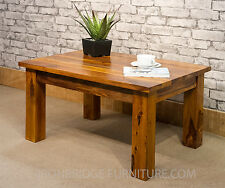Solid Indian Wood Sheesham Large Coffee Table 80 X 60 cms ~ Ironbridge Furniture