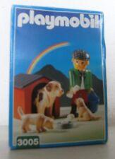Playmobil Hofhund 3005 Neu & OVP von 1998 Bauernhof Hund Hundehütte Welpen