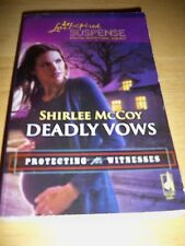 Love Inspired Suspense: Deadly Vows by Shirlee McCoy (2010, Paperback)