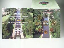 *** EURO KMS BELGIEN 2007 FDC mit Farbmedaille Color Medal Kursmünzensatz ***