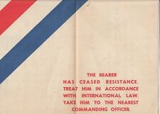 WW2 Australian propaganda leaflet dropped on Japanese soldiers & translation