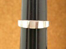 anillo de plata maciza