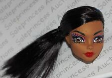 NEW Monster High Dead Tired Wave 3 Robecca Doll Head Replacement Loose OOAK