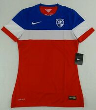 NWT Nike 2014 Team USA Authentic Player Issue Bomp-Pom Soccer Jersey Size Mens S