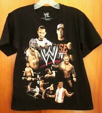 WWE med T shirt CM PUNK Rey Mysterio wrestling tee 2013 Randy Orton JOHN CENA