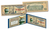 MILLENNIAL ELITE SERIES Genuine $10 Bill Alexander Hamilton SYMBOLS OF FREEDOM