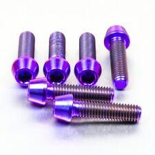 Pro-Bolt TI Top & Bottom Clamp Yoke Pinch Set Purple TITRIPCL490P YZF-R1 07-08