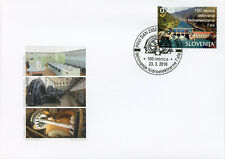 Slovenia 2018 FDC Fala Hydropower Plant 1v Set Cover Tourism Architecture Stamps