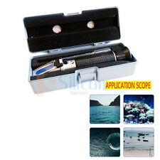 Temperature Salinity Refractometer for Aquarium 0 - 10 Hydrometer Rhs-10atc
