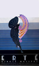 ERTE Beauty And The Beast Art Deco Vintage Poster 36 x 22