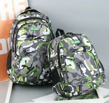 Camouflage Waterproof School Bags For Girls Boys Orthopedic Children Backpack Ki