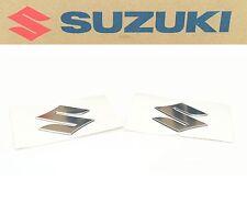 "New Genuine Suzuki ""S"" Emblem Logo Set 2001-2013 Models OEM DL GSX (NOTES) #K13"