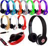 STEREO HEADPHONES DJ STYLE FOLDABLE HEADSET EARPHONE OVER EAR MP3/4 iphone sam