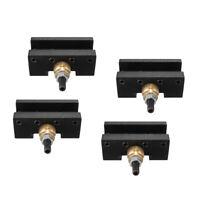 4PCS 1//4inch-1//2inch Mini Lathe Quick Change Tool Holder Milling Holders
