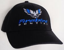 Hat Cap Pontiac GM Firebird Trans Am Black H137