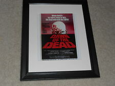 """Framed Dawn of the Dead 1978 Mini Poster, George A Romero USA Release 14""""x17"""""""