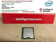 CPU Intel Xeon 6 Core E5645 12M de caché 2.40 Ghz ** ** slbwz