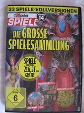 Die Große Spielesammlung Volume 14  Wimmelbild 3-Gewinnt..33 Vollversionen PC