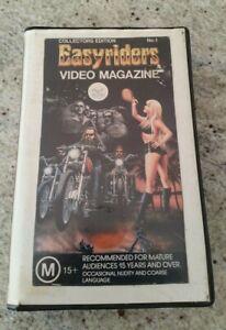 EASYRIDERS VIDEO MAGAZINE 1988 - COLLECTORS EDITION No.1 - VHS - GREAT CONDITION