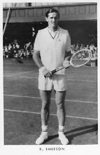 R Emerson Tennis Player unused  pc