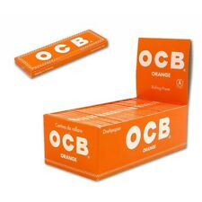 Cartine OCB Corte ORANGE Arancioni 100 pz 2 Box