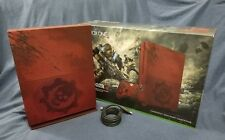 Xbox One S Gears of War 4 Edition 2TB Red Console System *w/ WARRANTY!* READ!