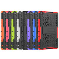 """Rugged Hybrid Armor Shockproof Case Stand Cover For Huawei MediaPad M5 Lite 8"""""""