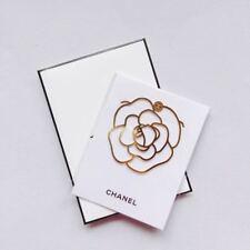 CHANEL VIP BEAUTY GIFT Camellia Metal Book Mark