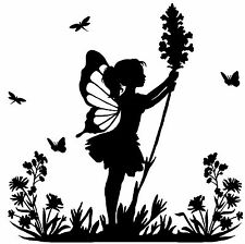 Vinyl Fairy Decal/Sticker/Embelishment/Wall Decal/Tablets/Computers and Crafts