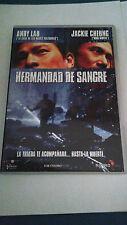 """DVD """"JIANG HU HERMANDAD DE SANGRE"""" ANDY LAU JACKIE CHEUNG WONG CHING PO"""