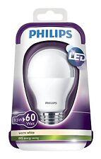 Bombilla LED Philips Eficiencia A+ 60W Bajo Consumo Casquillo E27 Luz Blanca