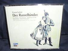 Lehar - Der Rastelbinder -Dallapozza / Zednik / Muliar / Hobarth / Graf -2CD-Box
