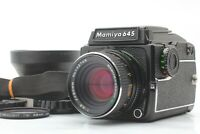 [MINT] MAMIYA M645 1000s Waist Level Late Model C 80mm f/2.8 Lens from JAPAN
