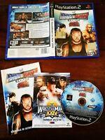 Smackdown Vs Raw 2008 Ps2 Perfetta Edizione Italiana Completa di Manuale
