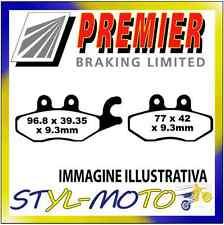 PASTIGLIE FRENI POSTERIORI ORGANICHE PREMIER PIAGGIO MP3 LT 250 ie 2009