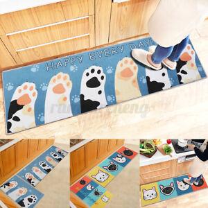 Kitchen Area Rug Cartoon Non-Slip Floor Mat Bedroom Room Hallway Runne