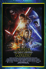 Star Wars The Force Awakens Han Solo Rey Finn Leia Movie Art Poster 24X36 Swfa