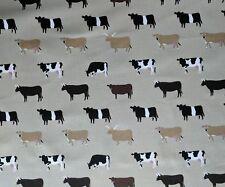Sophie Allport Cows Farm Cotton Fabric Remnant Fat Quarter 50 x 100cm