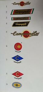 Campagnolo , Cinelli , Columbus Tubing Decals Stickers 19 options on your choice
