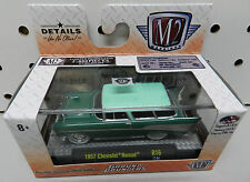 1957 NOMAD GREEN WAGON HOT ROD CHEVY GROUND POUNDERS 2,888 MADE R16 17-04 M2