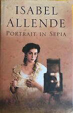 Portrait in Sepia  Isabel Allende very good used condition hardcover dust jacket