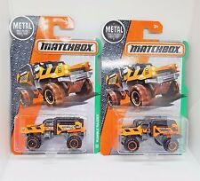 2016 Matchbox Rumble Raider - No. 105 - Orange/Black - Set of 2