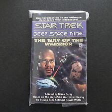 VINTAGE STAR TREK DSN THE WAY OF THE WARRIOR PAPERBACK BOOK NOVEL (1995)