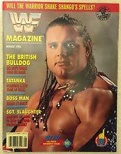 WWF Magazine August 1992 The British Bulldog WWE