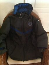 Indianapolis Colts nike snow NFL jacket retail price $400.00 NWT  size XL mens