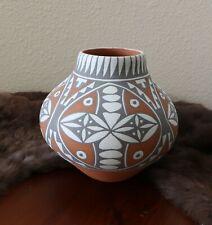 Vintage Jemez Pueblo Native American Pottery Artisan Mary Small