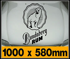 Huge Bundy Bear, Bundy Bonnet Sticker Decal 1000 x 580mm